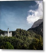 Little Castle On The Hill Metal Print