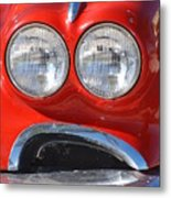 Little Red Corvette Metal Print