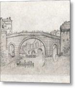 Liverpool Bridge Metal Print