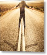 Living In The Moment Metal Print