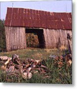 Lloyd Shanks Barn 4 Metal Print