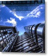 Lloyd's Of London And Cheese Grater Metal Print