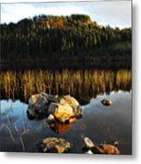 Loch Lundie Metal Print