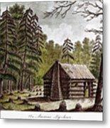 Log Cabin, 1826 Metal Print