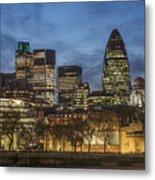 London Financial District Metal Print