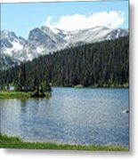 Long Lake Splender  Metal Print