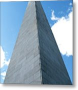Looking Up At Bunker Hill Metal Print