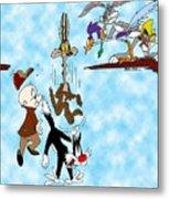 Looney Tunes Metal Print