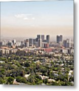 Los Angeles California - Glitter And Trouble Metal Print