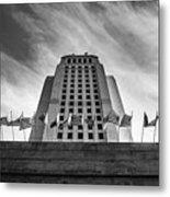 Los Angeles City Hall Metal Print