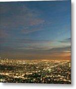 Los Angeles City Of Angels Metal Print