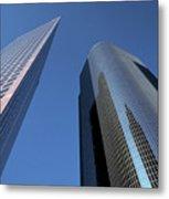 Los Angeles Skyscrapers Metal Print