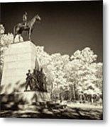 Louisiana Monument At Gettysburg Metal Print