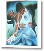 Love Dance Metal Print