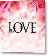 Love Heart Nd12 Metal Print