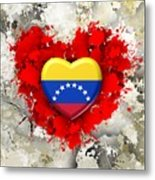Love Venezuela Metal Print