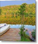 Lovely Lake Metal Print