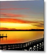 Lowcountry Autumn Metal Print