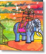 Lucy In The Sky With Diamonds Metal Print by Christie Mealo
