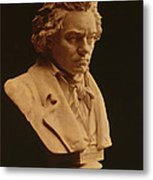 Ludwig Van Beethoven, German Composer Metal Print
