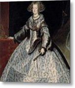 Luycks, Frans Amberes, 1604 - Viena, 1668 Maria Of Austria, Queen Of Hungary Ca. 1635 Metal Print