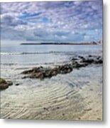 Lyme Regis Seascape - October Metal Print