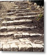 Maccabean Steps St Peter In Gallicantu Metal Print