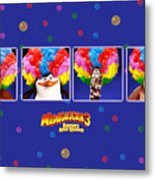 Madagascar 3 Europe's Most Wanted Metal Print