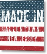 Made In Allentown, New Jersey Metal Print