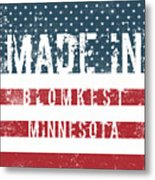 Made In Blomkest, Minnesota Metal Print