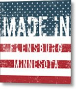 Made In Flensburg, Minnesota Metal Print