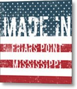 Made In Friars Point, Mississippi Metal Print