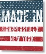 Made In Harpersfield, New York Metal Print