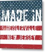 Made In Heislerville, New Jersey Metal Print