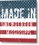 Made In Newhebron, Mississippi Metal Print