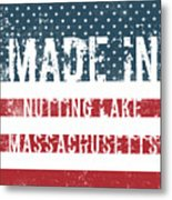 Made In Nutting Lake, Massachusetts Metal Print