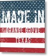 Made In Orange Grove, Texas Metal Print
