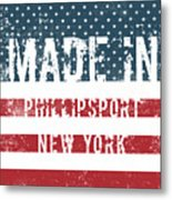 Made In Phillipsport, New York Metal Print