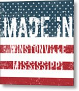 Made In Winstonville, Mississippi Metal Print