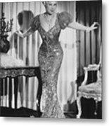 Mae West (1892-1980) Metal Print