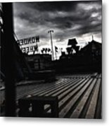 Magic Hour On The Wonder Wheel Metal Print