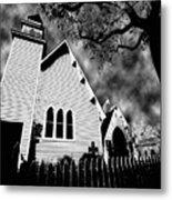 Magnolia Springs Alabama Church Metal Print