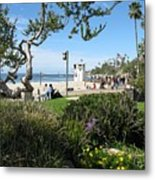 Main Beach Laguna Metal Print