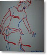 Mali Traditional Dance Metal Print