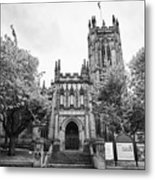 Manchester Cathedral Uk Metal Print