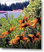 Manitoulin Shores Metal Print