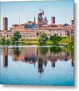 Mantua Skyline Metal Print