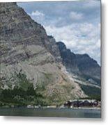 Many Glacier Lodge Metal Print