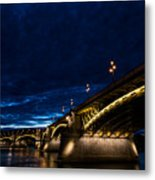 Margaret  Bridge In Budapest Metal Print