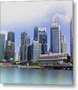 Marina Bay Singapore Metal Print